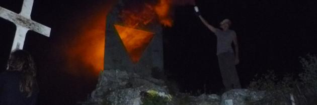 """Il ricordo del """"The burning cemetery"""" e della 'guera granda' nel nord-est (Wu Ming 1)"""