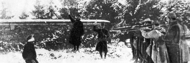 Una fucilazione: peggio della guerra (C. Pastorino)