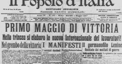 Grande guerra: la retorica degli intellettuali per ordire l'inganno (F. Cardini)