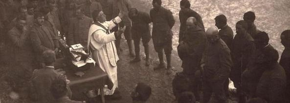 Nella prima guerra mondiale – e durante il fascismo – nascono i cappellani militari (G. Bianchi)