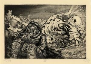 Otto Dix - Il pasto in trincea