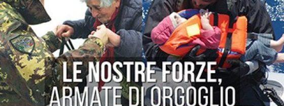 """""""Generale Bertolini, sono d'accordo con lei, questo manifesto non mi piace… (Don Renato Sacco)"""