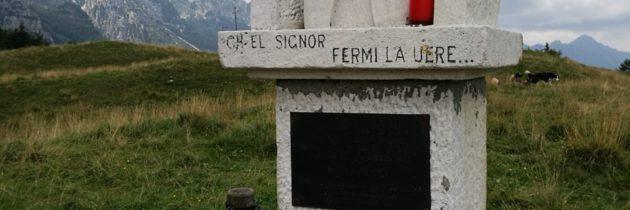 ESCURSIONE STORICO-PACIFISTA – Sentiero storico al Passo di Campogrosso (VI-TN) – 11 maggio 2019