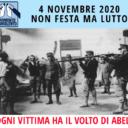 """""""4 novembre 2020 non festa ma lutto"""" (Movimento Nonviolento)"""